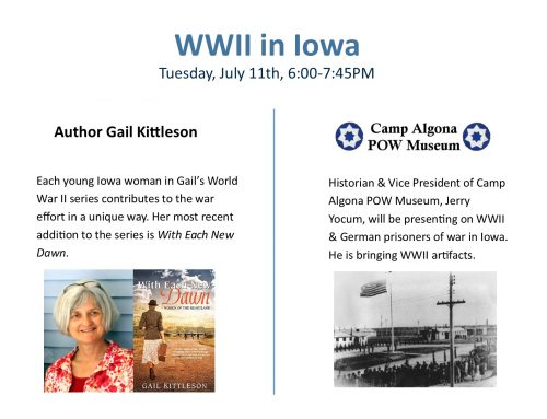 WWII in Iowa 6PM on July 11th