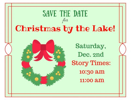 Christmas by the Lake Storytimes Dec. 2 at 10:30 & 11am
