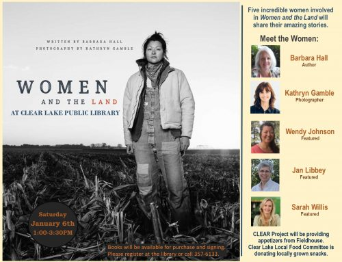 Women and the Land Jan 6th, 1:00-3:30