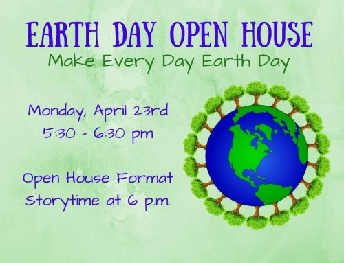Earth Day Family Night Open House April 23 @6pm