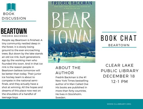 Book Chat: Beartown, Tuesday Dec 18 @12pm