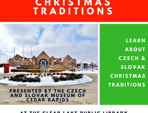 Czech & Slovak Christmas Traditions, Tuesday 12/11 @6:30pm