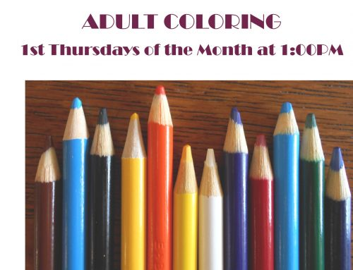 Adult Coloring 11/7 @ 1pm