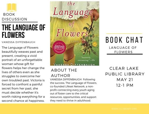 Book Chat: Language of Flowers Tuesday May 21 @ 12pm