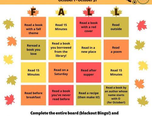 Fall Summer Reading Challenge!