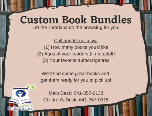 Book Bundles Available!
