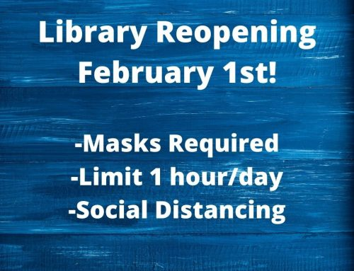 Library Reopening!