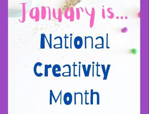 Grab & Go: National Creativity Month